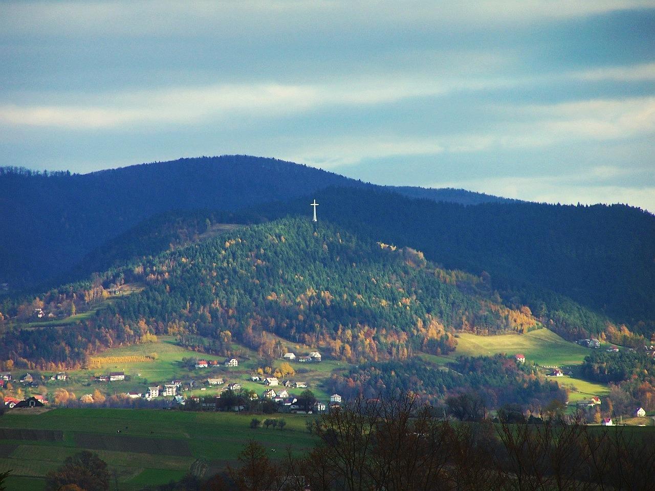 Krzyż Jubileuszowy na Miejskiej Górze