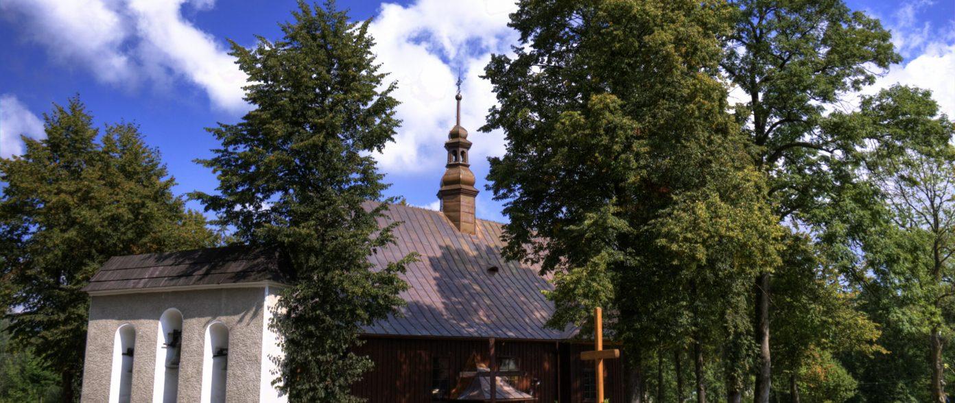 Zabytkowy kosciół pw. św. Andrzeja Apostola