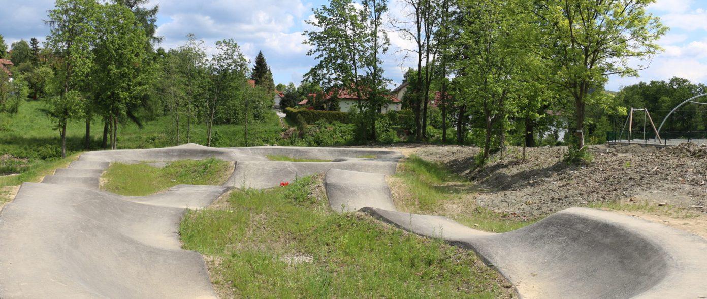 Pumptrack w Parku Miejskim