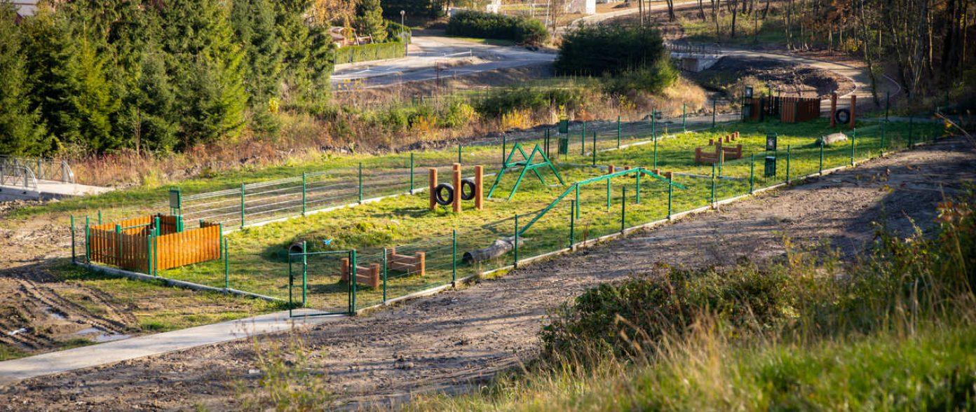 Psi park przy Potoku Jabłonieckim