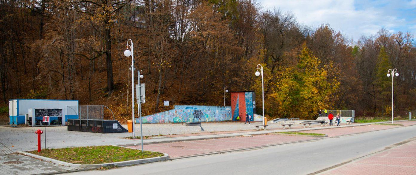 SkatePark / Lodowisko obok LDK